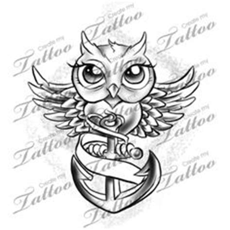 tattoo owl anchor 1000 images about banner tattoo designs on pinterest