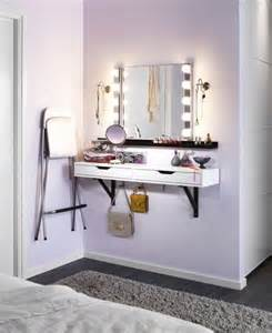 Ikea Vanity Without Top Dressing Table Without Taking Up Valuable Floor Space Ikea