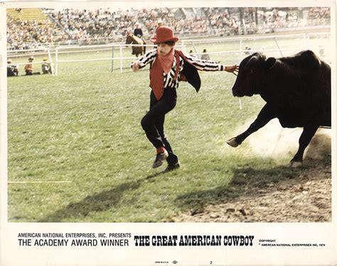american cowboy film great american cowboy the 1973 original lobby card fff