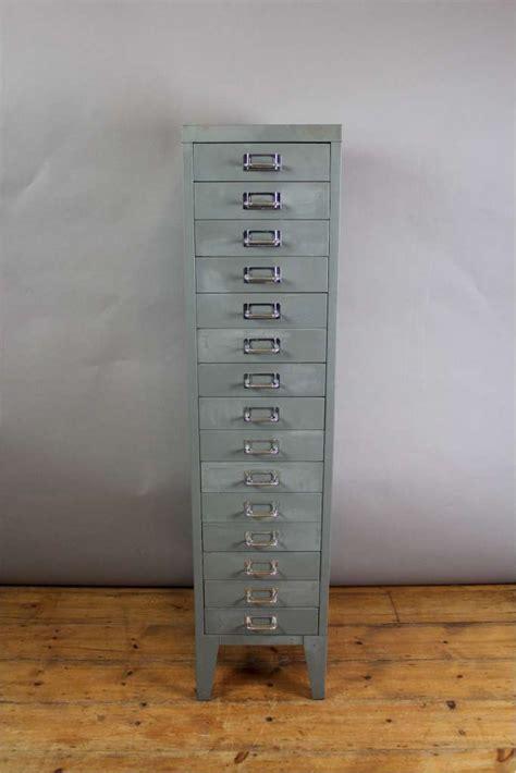art metal file cabinet vintage 15 drawer metal filing cabinet with chrome index