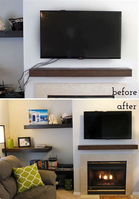 Pop Up Tv That Hides In The Fireplace by 25 Best Ideas About Hide Electrical Cords On