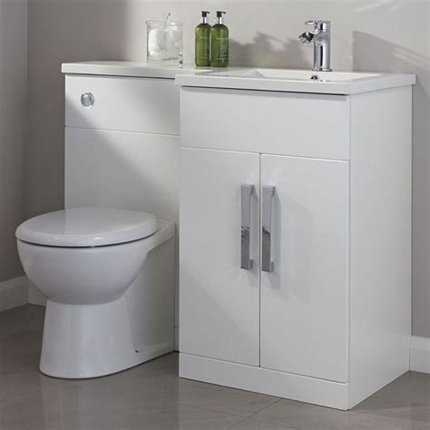 cooke and lewis bathroom cabinet cooke lewis ardesio gloss white rh vanity toilet pack