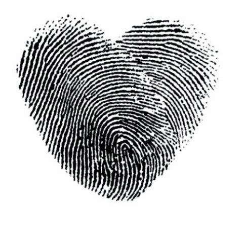 thumbprint heart tattoo fingerprint this wedding ideas