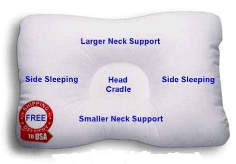 Cervical Neck Pillow For Side Sleepers by The 5 Best Neck Support Pillows