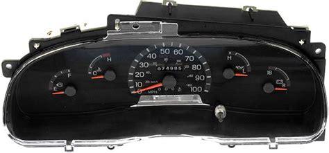auto manual repair 1992 ford econoline e150 instrument cluster 1998 ford e250 e350 stripped chassis econoline van instrument cluster repair gas only