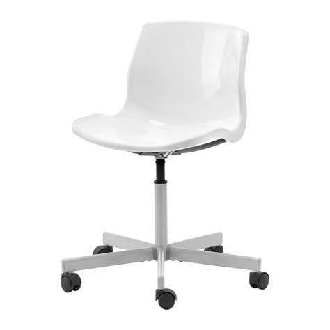 Ikea Office Chair White snille swivel chair ikea