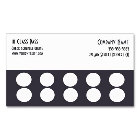 loyalty card template word punch cards template resume builder