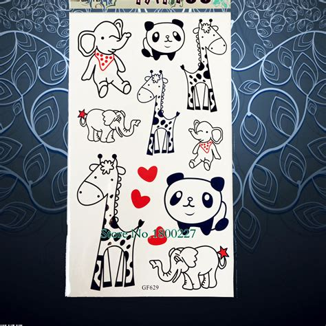 panda express tattoo policy online buy wholesale cartoon elephant tattoos from china