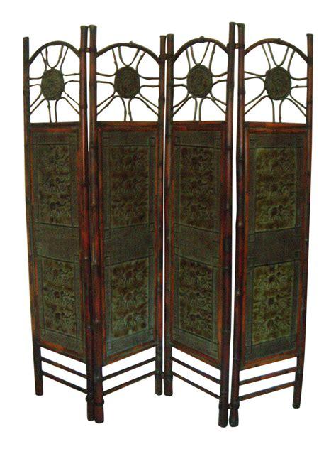 bamboo room divider elephant bamboo room divider chairish