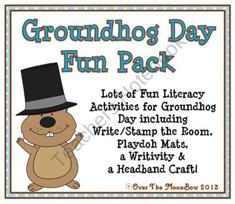 groundhog day espa ol 17 best images about holidays groundhog day on