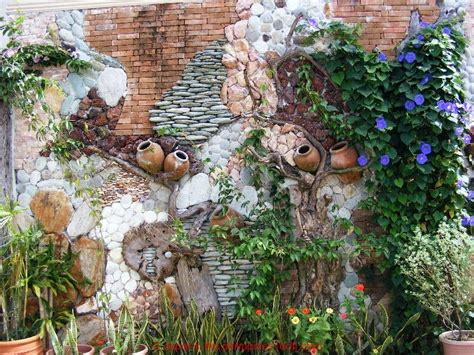 garden wall decoration the unique type of garden wall decor actual home