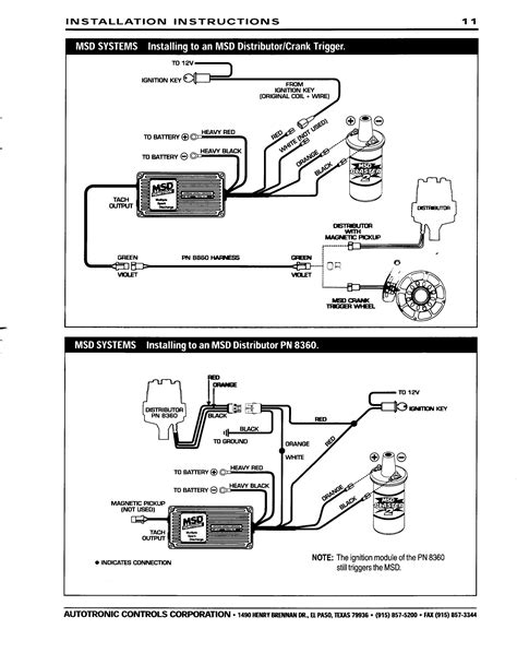 Msd Ignition Wiring Diagram Diagrams Schematics With