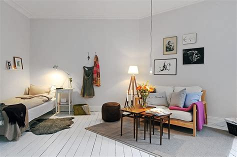 one room cozy style in 38 square metres trendey