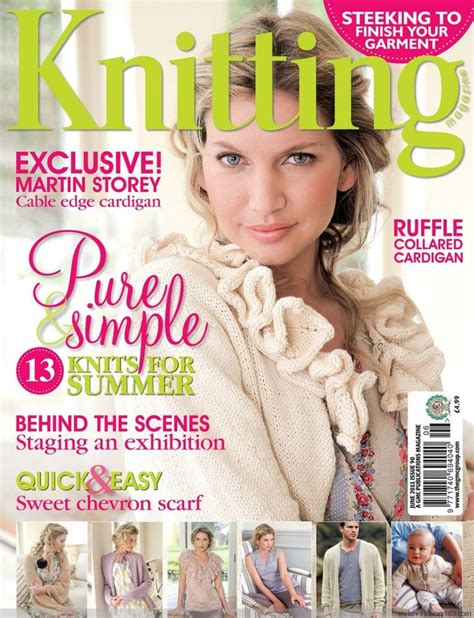 knitting for beginners my favourite magazines 17 best images about knitting books magazines on