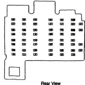 Isuzu Hombre 1996 Fuse Box Diagram Auto Genius