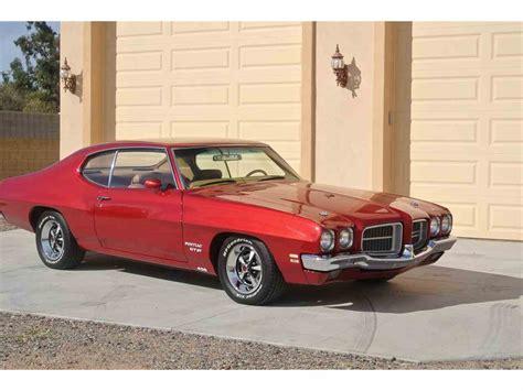 1971 pontiac gt37 1971 pontiac lemans gt 37 for sale classiccars cc