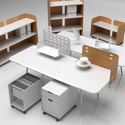 Vitra Office Desk Office Set Furniture Vitra 3d Model