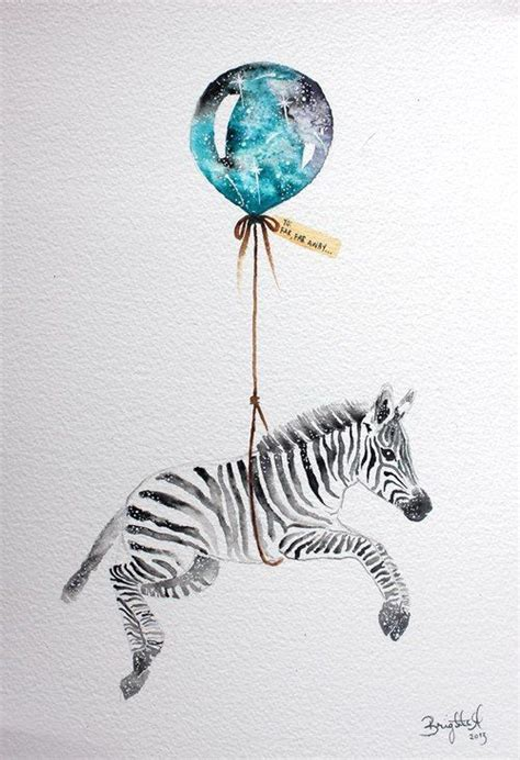 watercolor tattoo zebra best 25 zebra illustration ideas on