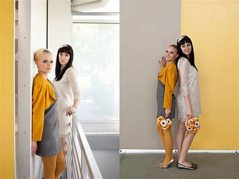 fashion grey inspired creations 60s mod wedding inspiration the