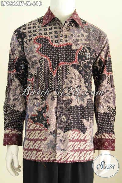 Baju Lengan Panjang Untuk Pria kemeja batik furing halus model baju batik lengan panjang untuk pria muda til gagah dan