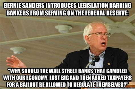Kick Liberalism sen sanders wants to kick wall banksters out of