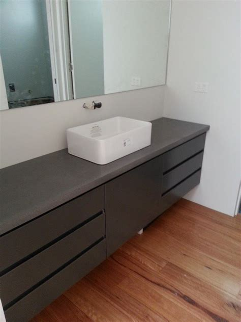 concrete bathroom vanity polished concrete bathroom vanity top by mitchell bink