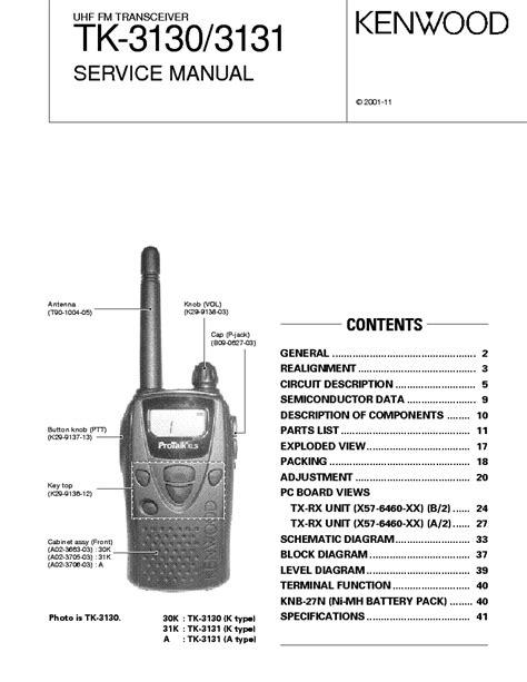 Kenwood Th G71 Service Manual Free Download Schematics