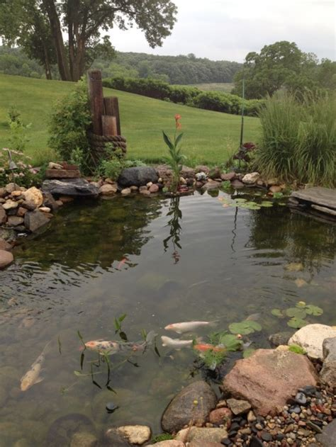 big house with beautiful ponds as cooling elements the 67 cool backyard pond design ideas digsdigs