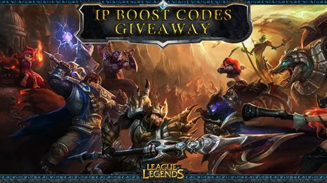 Lol Codes Giveaway - league of legends christmas giveaway gt gamersbook