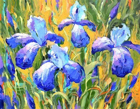 fiori impressionisti product reviews original fineart wall irises