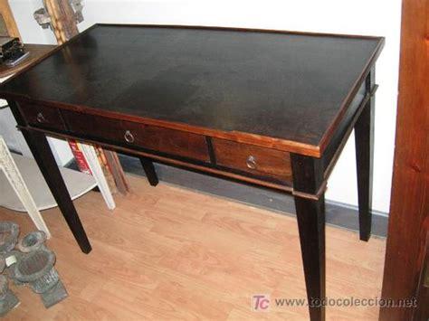 mesas de escritorio antiguas escritorio mesa de despacho bureau en madera comprar