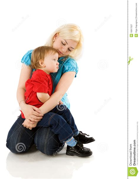 mother comforting child mother comforting son royalty free stock photography