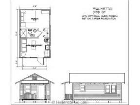 Katrina Cottage Floor Plan historic shed cottages tiny houses historic shed florida