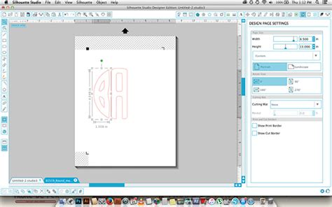 layout editor ungroup sophie gallo design blog how to use silhouette monogram