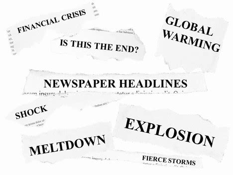 Free Newspaper Headlines Powerpoint Template Newspaper Headline Template