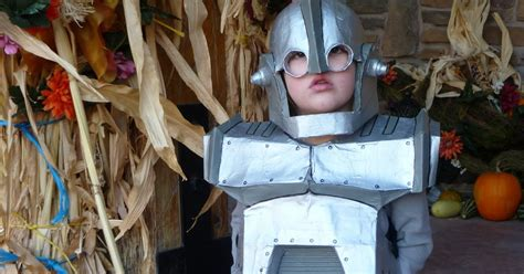 How To Make Paper Iron Suit - moving right along iron paper mache costume
