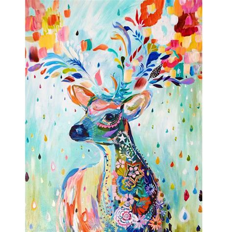 Selling Handmade Items In A Store - deer paintings promotion shop for promotional deer