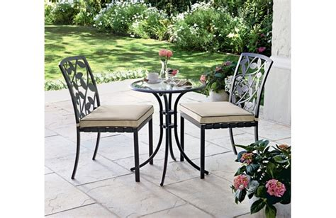 Lucca Bistro Table Homebase Bistro Table Bistro Tables Homebase Bistro Tables Garden Furniture Photo Gallery
