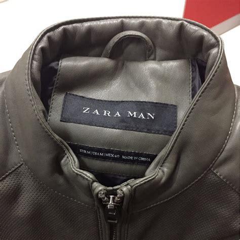 Harga Jaket Kulit Merk Zara jaket kulit zara ukuran m s fashion s clothes