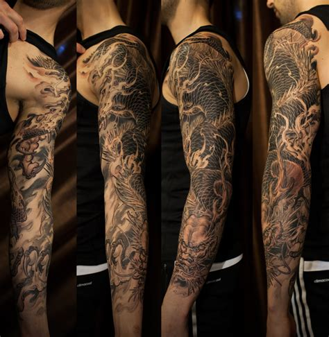 badass dragon tattoo designs badass and original sleeve tattoos top 157 trending