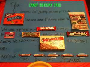 creative parenting candy birthday card