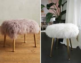 Fluffy Stool 13 anthropologie hacks from the new 2016 collection