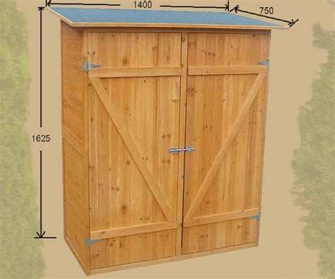 armadi x esterno armadio in legno da esterno 162 x 140 x 75 cm resistente