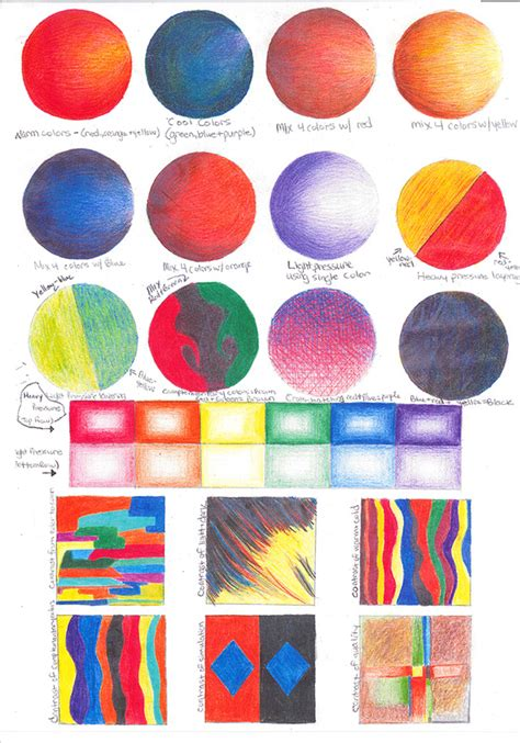 Color Packet Mr Chad S Ib Art Room Color Packets