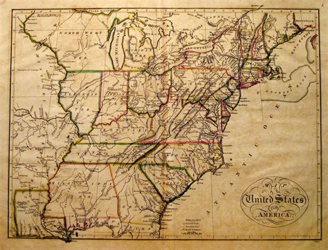 map of america states philadelphia 1810 s pennsylvania maps
