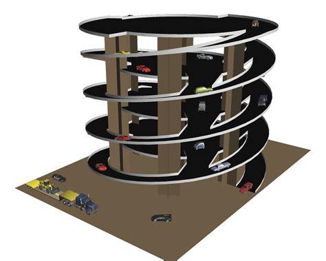 2 Car Garage Dimensions Dual Twister Ramp Design Paperbotz