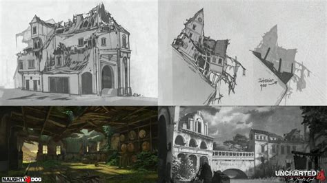 home design game levels discover uncharted 4 s environment art workflow gnomon