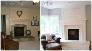 before and after fireplace hometalk fireplace makeover before and after
