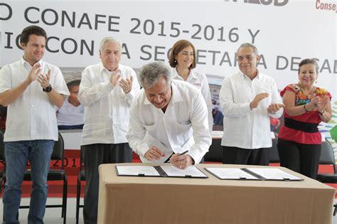 convenio empleados de sanidad 2016 premio conafe 2015 2016 y firma de convenio con la