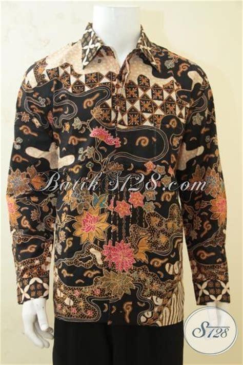 Kemeja Armada Baju Jember Pria Kemeja Lengan Panjang hem batik klasik trend terkini pakaian batik lengan